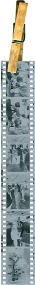 Séchage d'un film noir et blanc