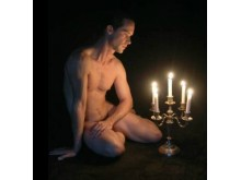 Photo de membres nus d'hommes