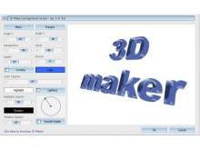 3D Maker - Conception d'images 3D